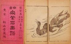画像2: 南画 宋紫石画譜  (2)