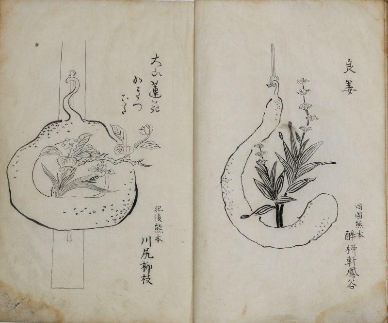 画像1: 特選品(古典籍・古書籍) 諸国百瓶図 (1)