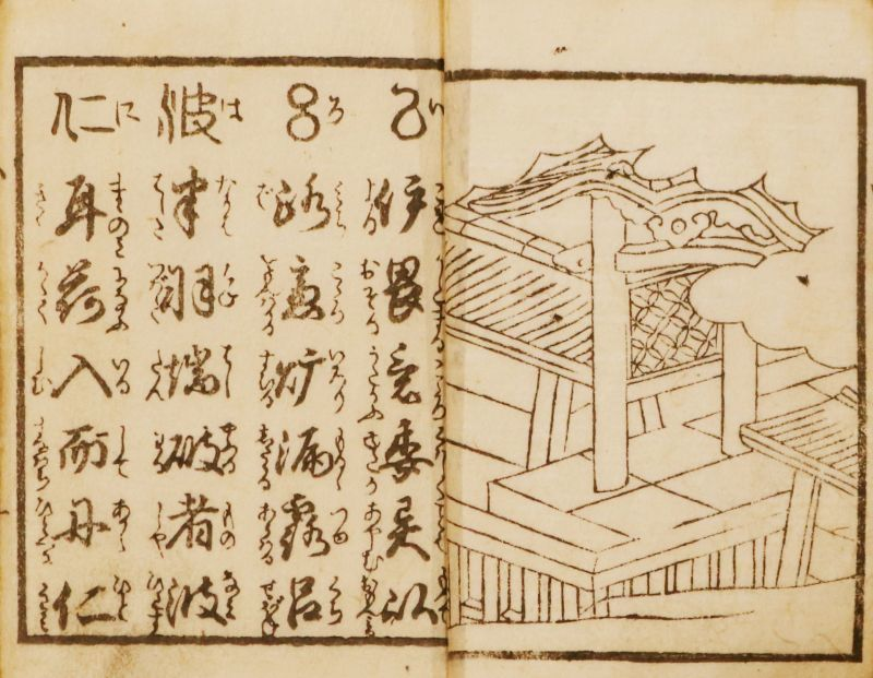 画像1: 京横竪町尽、三体伊呂波、小野篁歌字尽他 (1)