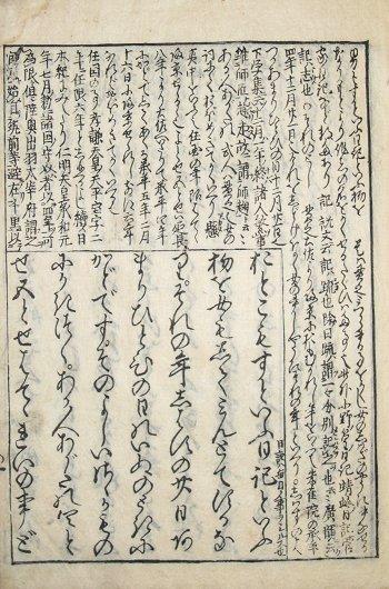 画像1: 首書 土佐日記 (1)