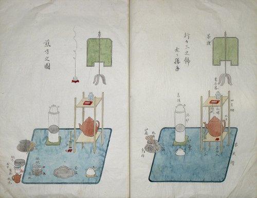 画像1: 煎茶清玩規清風構図式 行々三之飾之部 (1)