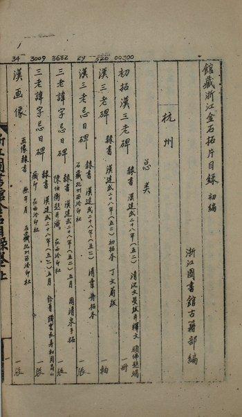 画像1: 淅江図書館館蔵淅江金石拓片目録 初編 (1)