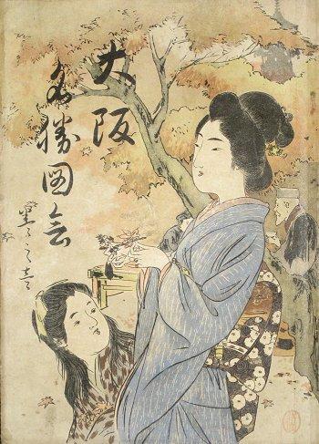 画像1: 大阪名勝図絵 (1)